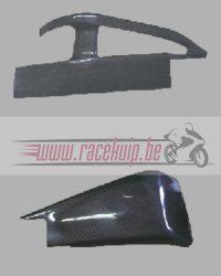 Carbon achterbrug bescherming Cbr 600rr 03 04