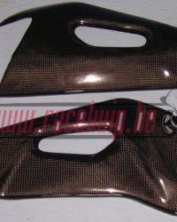 Carbon achterbrug bescherming Aprilia RSV4