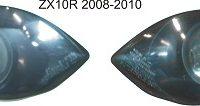 koplamp koplampsticker zx10r 08-10